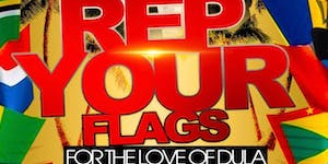 For the love of Dula: The Caribbean Flag Party...