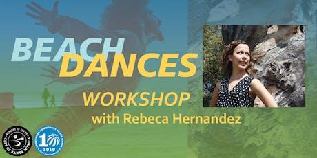 Beach Dances: Parent-Child Yoga + Cumbia Workshop with Rebeca Hernandez tickets