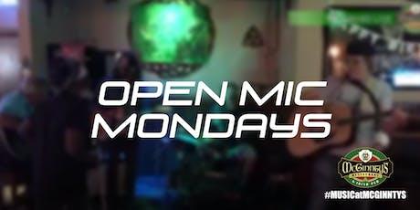 Open Mic Night at McGinnty's Irish Pub tickets