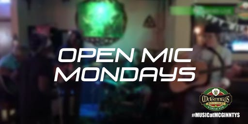 Open Mic Night at McGinnty's Irish Pub