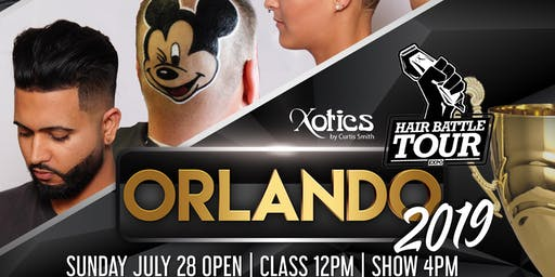 HAIR BATTLE TOUR AND EXPO-  July 28, 2019