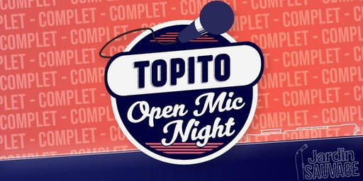 TOPITO Open Mic Night