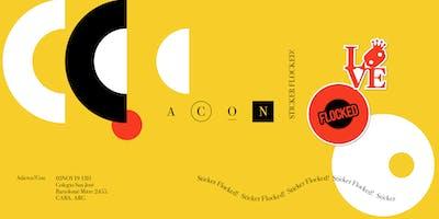 Expansión Sticker Flocked - Adictos!Con19