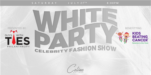 White Party Celebrity Fashion Show