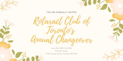 RotaractTO Annual Changeover Dinner