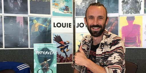Comic Con - Artist talk Louie Joyce