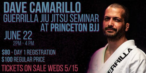 Dave Camarillo Jiu Jitsu Seminar