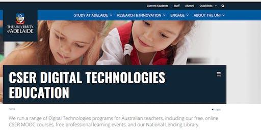 CSER Digital Technologies Tech Teacher Sandpit with Helen Kardiasmenos & Russell Cairns