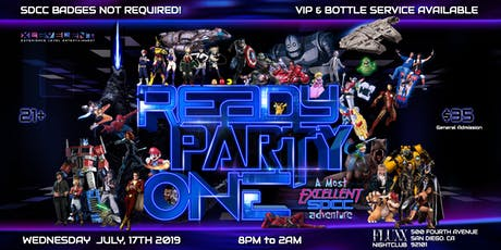 READY PARTY ONE: A most Excellent SDCC 2019 Experience! tickets