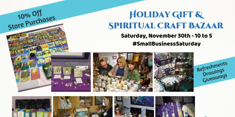 Holiday Gift & Spiritual Craft Bazaar Tickets, Sat, Nov 30