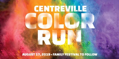 Centreville 3K Color Run & Family Festival tickets