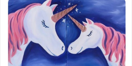 Mom & Me Unicorns Paint Event- E.Providence