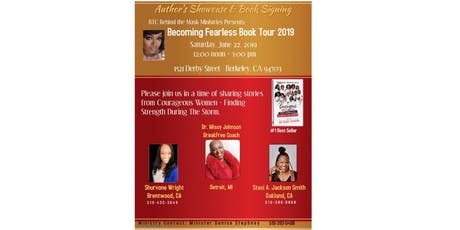 Behind The Mask Ministries Presents: Becoming Fearless Book Tour 2019, Author's Showcase and Book Signing tickets