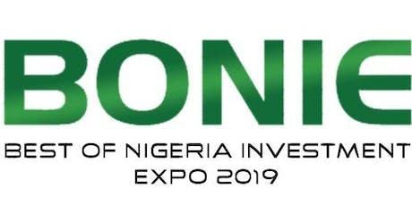 BEST OF NIGERIA INVESTMENT EXHIBITION 2019 tickets