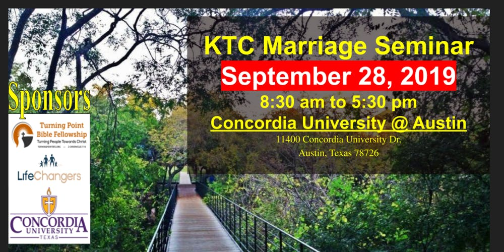 Keep the Covenant: Marriage Enrichment Seminar Registration