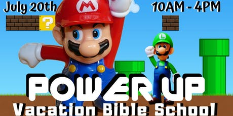 POWER UP VBS tickets