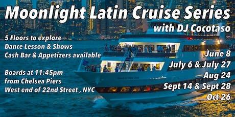 Moonlight Latin Cruise Series tickets