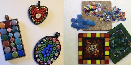 """Mosaics in an Afternoon"": A Quick Introduction to Mosaic Art tickets"