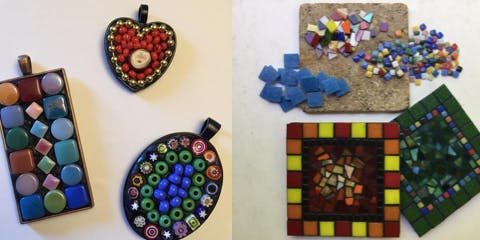"""Mosaics in an Afternoon"": A Quick Introduction to Mosaic Art"