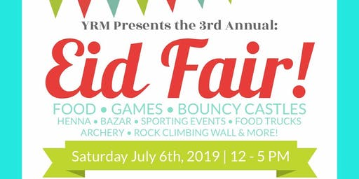 Third Annual Eid Fair
