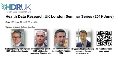 HDR UK London Seminar Series (June 2019)  tickets