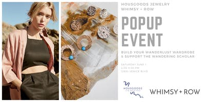 HOUSGOODS Jewelry Popup x Whimsy + Row