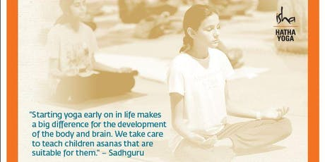 Hatha Yoga for Children tickets