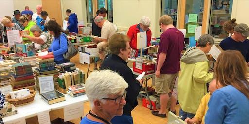 The 2019 Friends Annual Book Sale, ETC