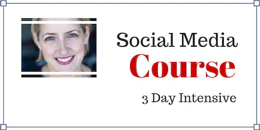 3 Day INTENSIVE Social Media Course Sydney - August 2019
