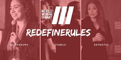 WORLD WOMAN SUMMIT, NOV 22-23, 2019 @CLINTON PRESIDENTIAL CENTER