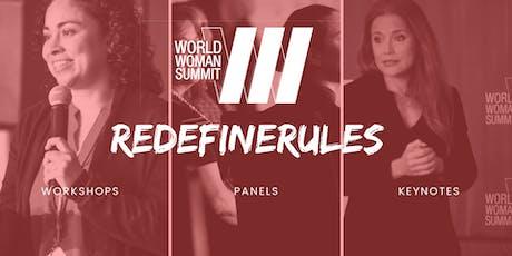 WORLD WOMAN SUMMIT, NOV 22-23, 2019 @CLINTON PRESIDENTIAL CENTER tickets
