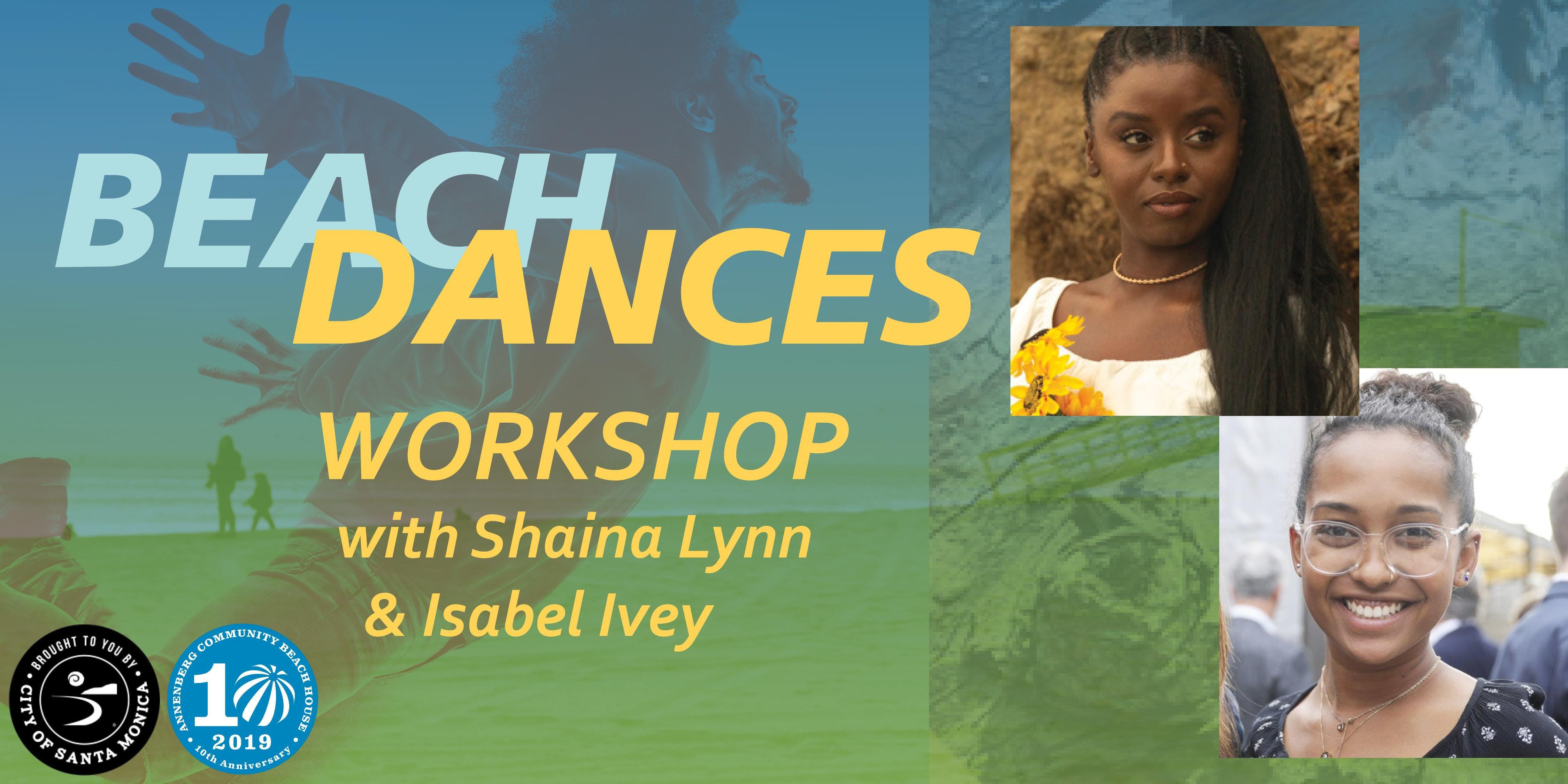 Beach Dances: La Diáspora de Twerk Workshop with Shaina Lynn & Isabel Ivey