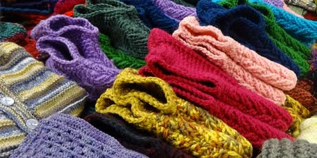 Knit One Give One: celebrating community crafting and sharing tickets