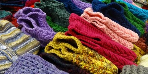 Knit One Give One: celebrating community crafting and sharing