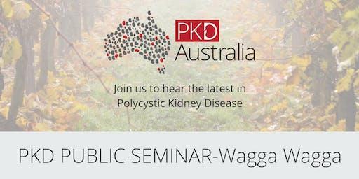 PKD Public Seminar- Wagga Wagga