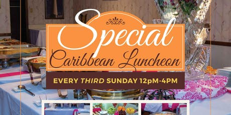 Special Caribbean Luncheon tickets