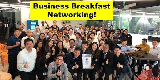 Business Breakfast Networking in Town!