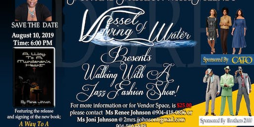 WALKING WITH A JAZZ FASHION SHOW / BOOK SIGNING