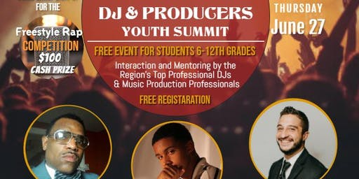 4th Annual DJ & Producers Youth will Debut a Freestyle Rap Competition