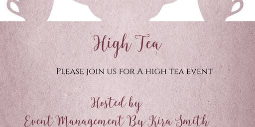 Event Management By Kira Smith High Tea Party