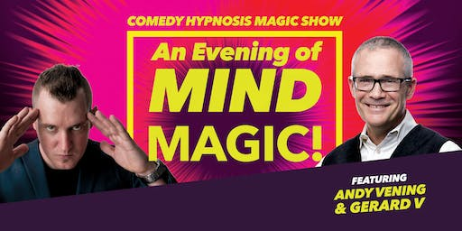 Whose Mind is It Anyway? An Evening of Hilarious Mental Magic & Hypnosis