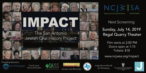 Impact: The San Antonio Jewish Oral History Project