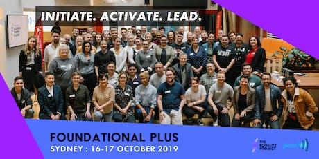 Foundational Plus | Sydney tickets