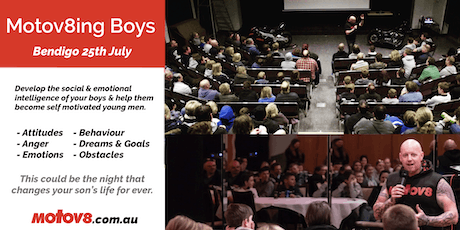 Motov8ing Boys - Bendigo tickets