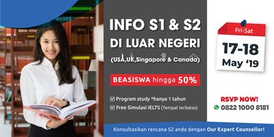 Info S1 & S2 di Luar Negeri - Vista Education Malang & Bali