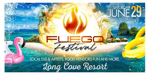 FUEGO FESTIVAL - Biggest Lake Party in Charlotte - 06.29.19