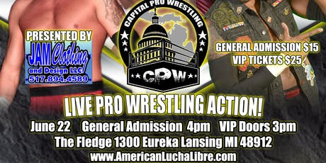 LIVE PRO WRESTLING ACTION! tickets