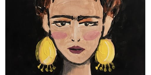 Learn how to Paint Frida Kahlo in Fitzroy