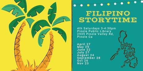 Filipino Storytime tickets