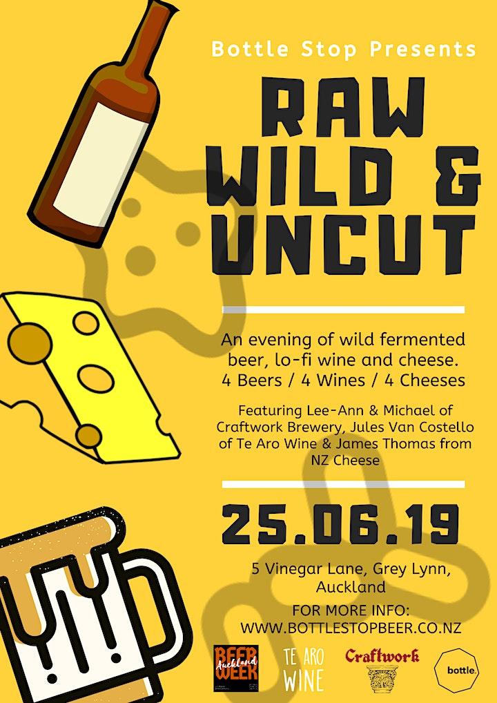 RAW, WILD & UNCUT image